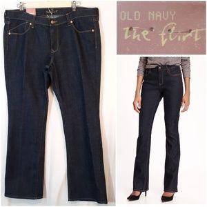 Old Navy The Flirt Bootcut Short Length Jeans